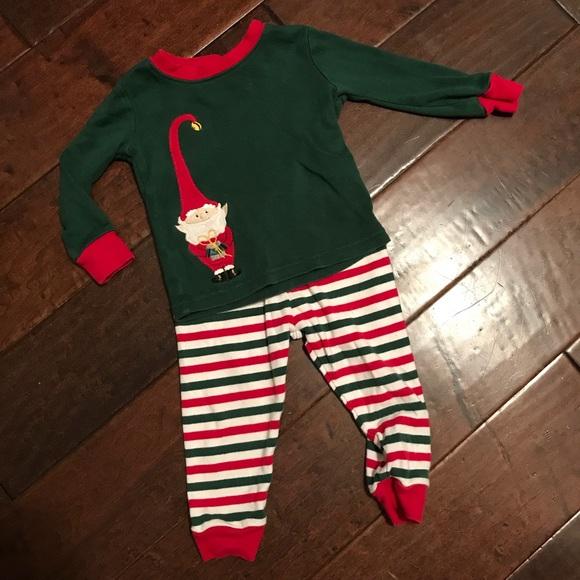 gymboree christmas elf pajamas 18 24 months